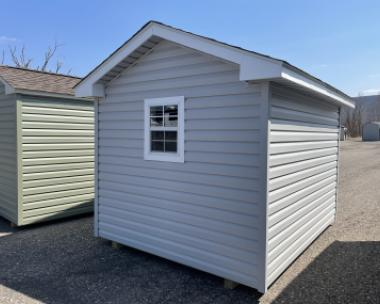 10x16 Front Entry Peak Shed